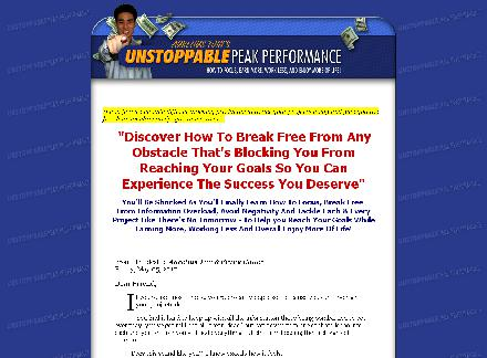 Unstoppable Peak Performance Guide review
