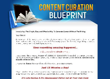 Content Curation Blueprint review