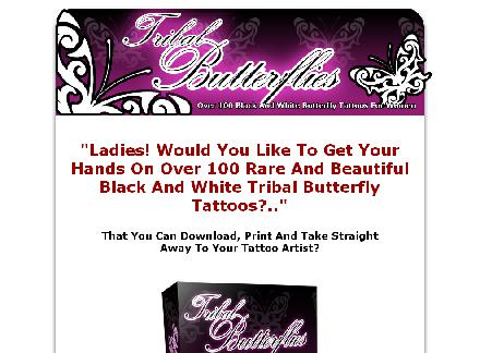 Tribal Butterfly Tattoos review