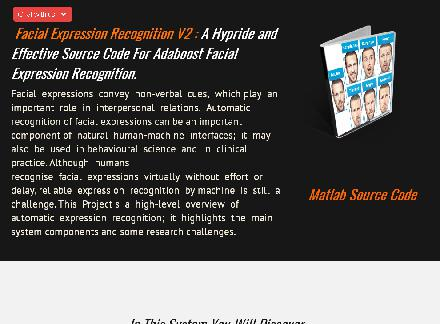 Facial Expression Recognition Matlab Biometric Code reviews