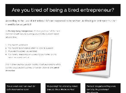 The Easy-Going Entrepreneur review