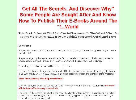 eBook Publishing Secret review