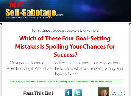 Beat Self Sabotage System review