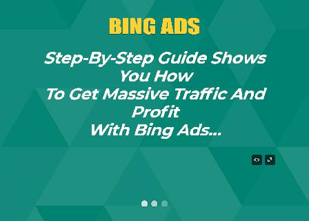 Bing Ads Master Resell Rights Ebook Package review