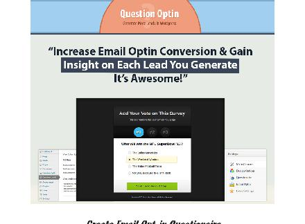 Question Optin WP Plugin review