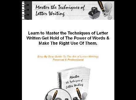 Master The Techniques Of Letter Writing review