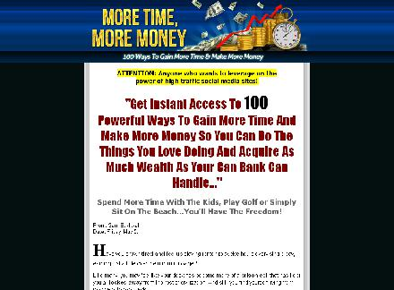 100 Ways To Gain More Time And Make More Money review