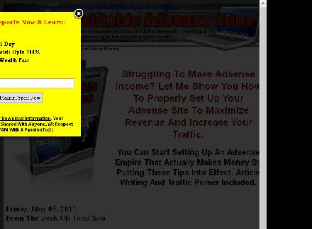 How To Create Profitable Adsense Sites review