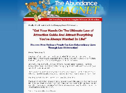 The Abundance Magnet-Get Everything you Ever Imagine with law of attraction review