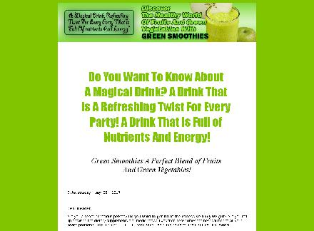 Discover the healthy world of fruits and Green Vegetables with Green Smoothies review