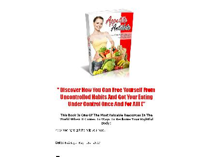 Appetite Antidote-Are your eating problems making your life difficult review