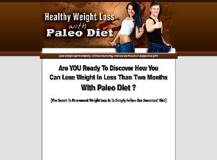 Healthy Weight Loss With Paleo Diet review