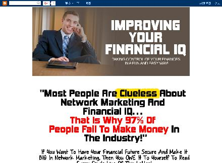 Improving Your Financial IQ review