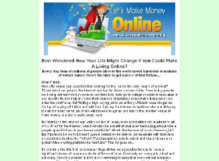 Let's Make Money Online! review