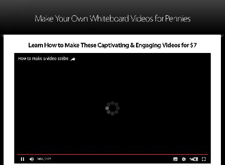 Make Your Own Whiteboard Videos for Pennies review