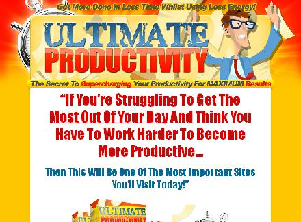 Ultimate Productivity review