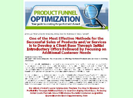 Product Funnel Optimizer review