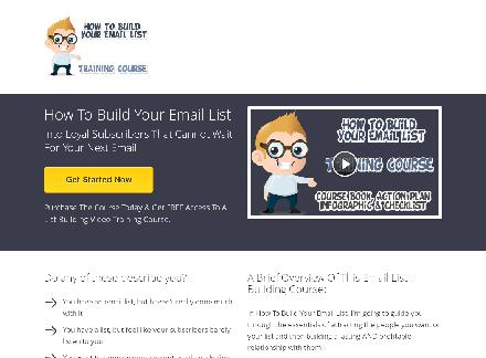 How To Build Your Email List Course review