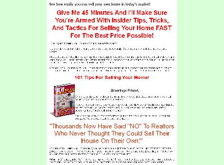 101 For Selling Your House Yourself!! review