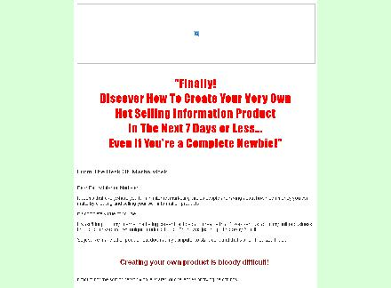 7 Day Product Creation Crash Course review