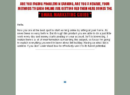 Email Marketing Guide For Newbies review