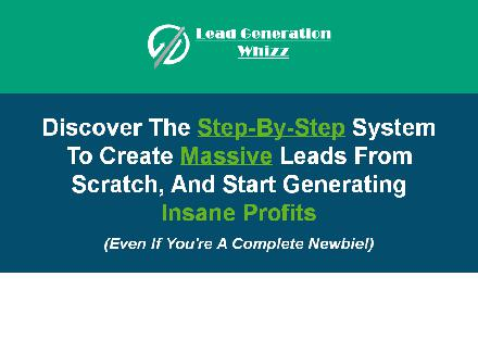 Lead Generation Whizz review