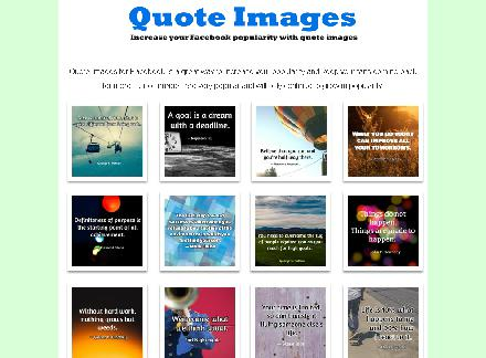Facebook Image Quotes review