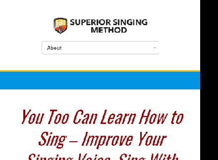 The Superior Singing Method is our bestselling multimedia review