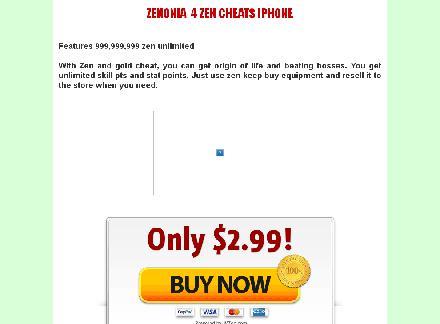 Zenonia 4 zen cheat iPhone review