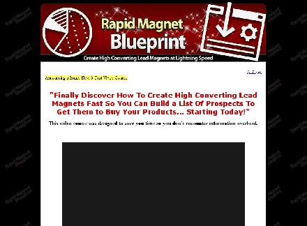 Rapid Lead Magnet Blueprint and Bonuses review