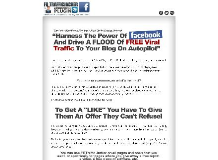 FB Traffic Jacker - Multi Site Licence review
