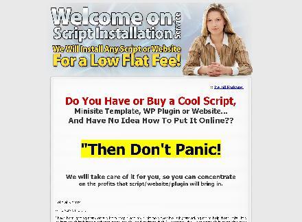 Script Install Service - 6 domain Install