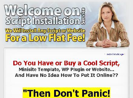 Script Install Service - 15 domain Install