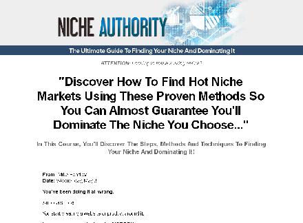 Niche Authority review
