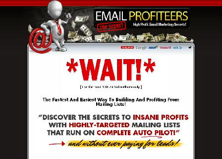 Email Profiteers and 7 FREE Products BONUS review