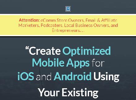 Content Promo Easy App Builder review