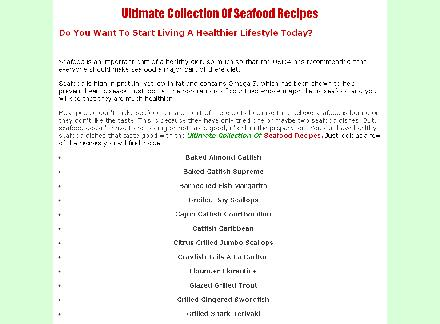 Ultimate Collection Of Seafood Recipes review
