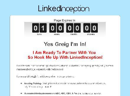 LinkedInception review