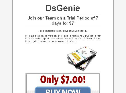 DsGenie trial review