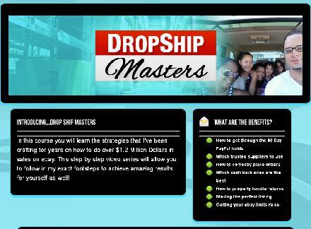 DropShip Masters review