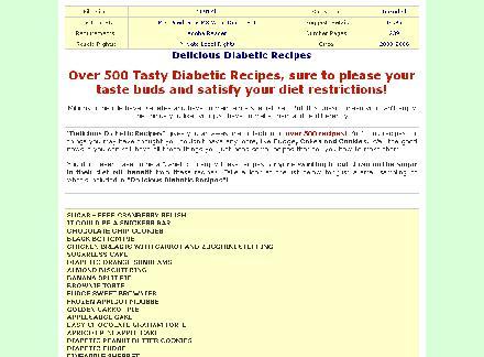 Delicious Diabetic Recipes review