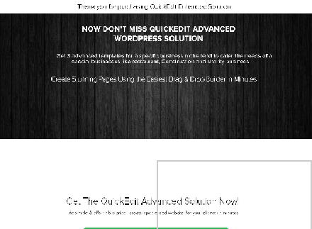 QuickEdit Advanced WordPress Solution review