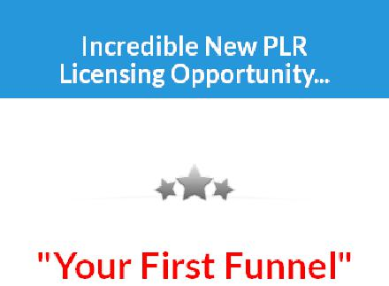 Your First Sales Funnel - PLR Package review