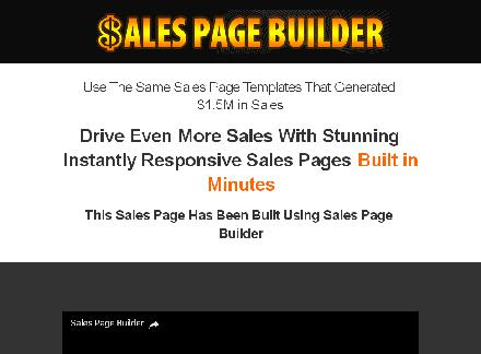 MyProduct Store Sales Page Builder review