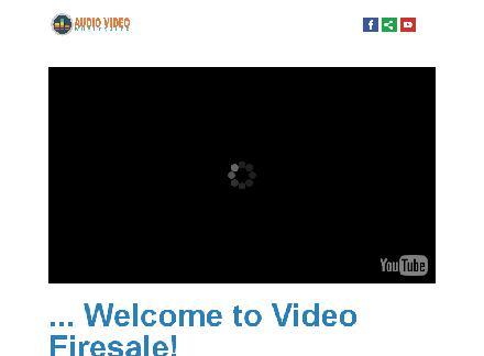 AVW Video Firesale Vol 1 Video Course review