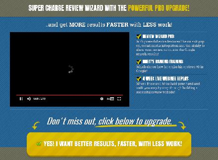 Review Wizard: Pro review
