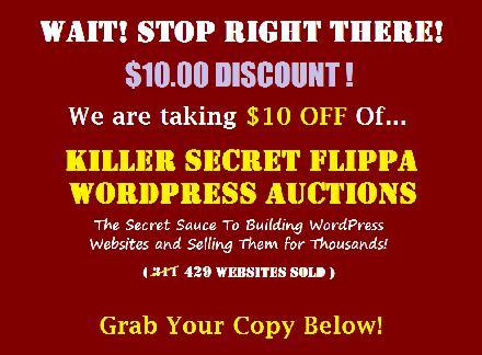 Killer WordPress Flippa Auctions review