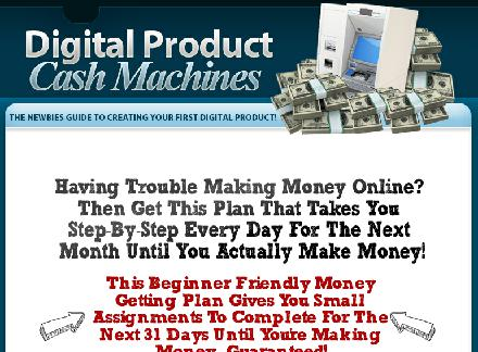 Digital Product Cash Machines review
