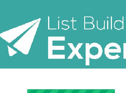 List Building Expert Video Course review
