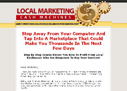 Local Marketing Cash Machines review